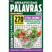 Desafio das Palavras Ed. 06 - Fácil/Médio - Tema: Reeducação Alimentar - Letras Grandes
