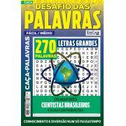 Desafio das Palavras Ed. 08 - Fácil/Médio - Tema: Os Maiores Cientistas Brasileiros - Letras Grandes