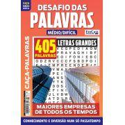 Desafio das Palavras Ed. 10 - Médio/Difícil - Letras Grandes - Tema: Maiores Empresas de Todos os Tempos