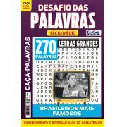 Desafio das Palavras Ed. 11 - Fácil/Médio - Letras Grandes - Tema: Brasileiros Mais Famosos
