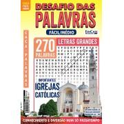Desafio das Palavras Ed. 14 - Fácil/Médio - Letras Grandes - Tema: Importantes Igrejas Católicas