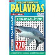 Descobrindo as Palavras Ed. 38 - Fácil/Médio - Animais Aquáticos
