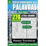 Descobrindo as Palavras Ed. 42 - Fácil/Médio - Letras Grandes - Pontos Turísticos