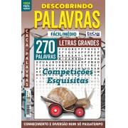 Descobrindo as Palavras Ed. 45 - Fácil/Médio - Letras Grandes - Competições Esquisitas