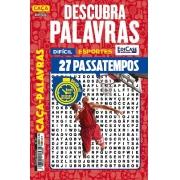 Descubra Palavras Ed. 207 - Difícil - Tema:  Esportes
