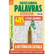 Descubra Palavras Ed. 224 - Médio/Difícil - A História da Cachaça