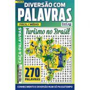 Diversão Com Palavras Ed. 22 - Fácil/Médio - Turismo no Brasil