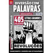 Diversão Com Palavras Ed. 27 - Médio/Difícil - Letras Grandes - Tema: Revoluções