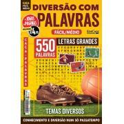 Diversão Com Palavras Ed. 33 - Fácil/Médio - Letras Grandes - Temas Diversos