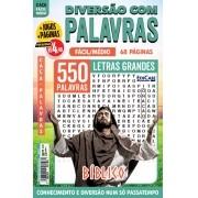 Diversão Com Palavras Ed. 35 - Fácil/Médio - Letras Grandes - Bíblico