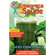 Emagreça Com Saúde Ed. 27 - SUCOS FUNCIONAIS - *PRODUTO DIGITAL (PDF)