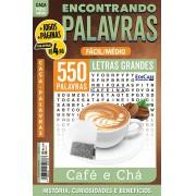 Encontrando Palavras Ed. 19 - Fácil/Médio - Café e Chá