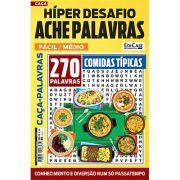 Hiper Desafios Ache Palavras Ed. 55 - Fácil/Médio - Tema: Comidas Típicas