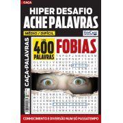 Hiper Desafios Ache Palavras Ed. 59 - Médio/Difícil - Fobias