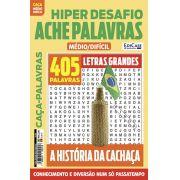 Hiper Desafios Ache Palavras Ed. 60 - Médio/Difícil - Letras Grandes - Tema: A História da Cachaça