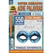 Hiper Desafios Ache Palavras Ed. 66 - Fácil/Médio - Letras Grandes - Tema: Diversos