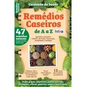 Kit c/ 4 Revistas - Cuidando da Saúde - Tudo sobre ervas medicinais e grãos