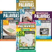 Kit Caça-Palavras - Mai/19 - 4 Revistas