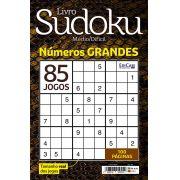 Livro Sudoku Ed. 04 - Médio/Difícil - Com Números Grandes - Só Jogos 9x9