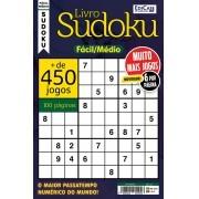 Livro Sudoku Ed. 12 - Fácil/Médio - Só Jogos 9x9 - 6 por página