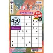 Livro Sudoku Ed. 16 - Médio/Difícil - Só Jogos 9x9 - 6 Jogos por página