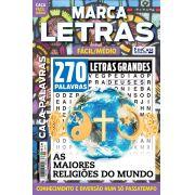 Marca Letras Ed. 54 - Fácil/Médio - Letras Grandes - As Maiores Religiões do Mundo