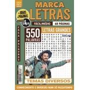 Marca Letras Ed. 63 - Fácil/Médio - Letras Grandes - Temas Diversos