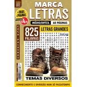 Marca Letras Ed. 64 - Médio/Difícil - Letras Grandes - Temas Diversos