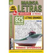 Marca Letras Ed. 65 - Médio/Difícil - Letras Grandes - Temas Diversos