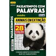 Passatempos Com Palavras Ed. 68 - Médio - Tema: Animais Extintos