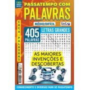 Passatempos Com Palavras Ed. 82 - Médio/Difícil - Letras Grandes - As Maiores Invenções e Descobertas