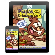 Piadas Para Crianças Ed. 91 - Curtinhas, O que é, o que é? E Charadas - PRODUTO DIGITAL (PDF)