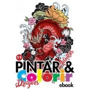 Pintar e Colorir Adultos Ed. 11 - Dragões - PRODUTO DIGITAL (PDF)