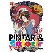 Pintar e Colorir Adultos Ed. 14 - Gueixa - PRODUTO DIGITAL (PDF)
