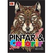 Pintar e Colorir Adultos Ed. 16 - Lobos - PRODUTO DIGITAL (PDF)