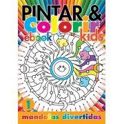 Pintar e Colorir Kids Ed. 01 - Mandalas Divertidas - PRODUTO DIGITAL (PDF)