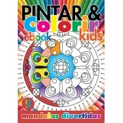 Pintar e Colorir Kids Ed. 09 - Mandalas Divertidas - PRODUTO DIGITAL (PDF)