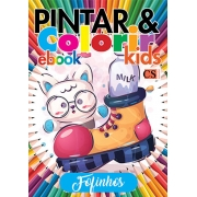 Pintar e Colorir Kids Ed. 30 - Fofinhos - PRODUTO DIGITAL (PDF)