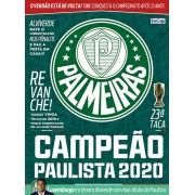 Pôster Campeão Paulista 2020  Ed. 01 - Palmeiras