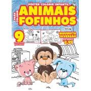 Pôster Colorir Infantil Ed. 01 - Animais Fofinhos