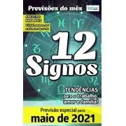 Previsões do Mês Ed. 35 - Maio/21 - 12 Signos - PRODUTO DIGITAL (PDF)