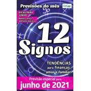 Previsões do Mês Ed. 36 - Junho/21 - 12 Signos - PRODUTO DIGITAL (PDF)