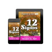 Previsões do Mês Ed. 40 - Outubro/21 - 12 Signos - PRODUTO DIGITAL (PDF)