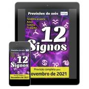 Previsões do Mês Ed. 41 - Novembro/21 - 12 Signos - PRODUTO DIGITAL (PDF)