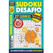 Sudoku Desafio Ed. 55 - Muito Difícil - Só Super Desafio - Com Letras e Números