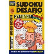 Sudoku Desafio Ed. 56 - Muito Difícil - Só Super Desafio - Com Letras e Números