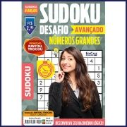 Sudoku Desafio Ed. 59 - Avançado - Com Números Grandes - Só Jogos 9x9