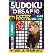 Sudoku Desafio Ed. 61 - Médio/Difícil - Só Jogos 9x9 - Números Grandes