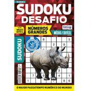 Sudoku Desafio Ed. 62 - Médio/Difícil - Só Jogos 9x9 - Números Grandes