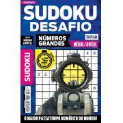 Sudoku Desafio Ed. 63 - Médio/Difícil - Só Jogos 9x9 - Números Grandes - 1 Jogo Por Página